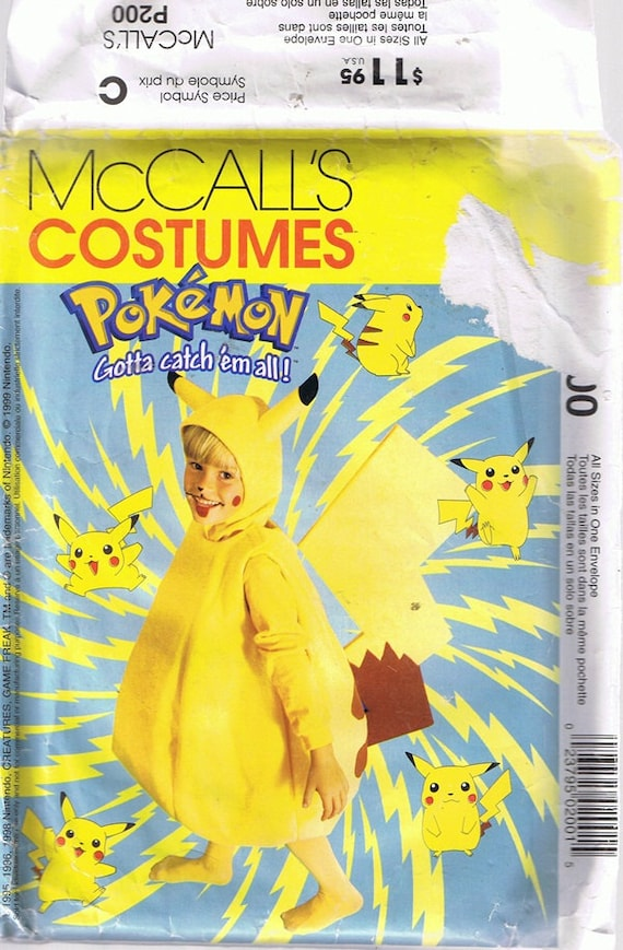 Pokemon Halloween Costume Sewing - 120.3KB