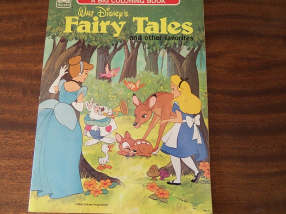 walt disney and fairy tales A sweet and faithful telling of the fairy tale, cinderella features pretty  alice was  a favorite tale for walt disney himself, and he considered.