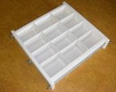 No Liner 12 bar 3 lb slab tray Soap Mold lye & glycerin, cold or hot process. Wooden Wood Lids AVAIL. E