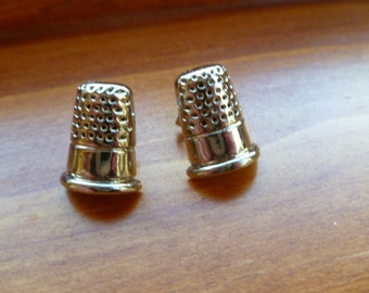 Earrings Mix and Match Collection Matching Set  Sewing Thimble