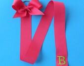 Monogrammed Bow Hanger