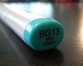 Copic Sketch Marker - BG13 - Mint Green - Light Teal - Destash