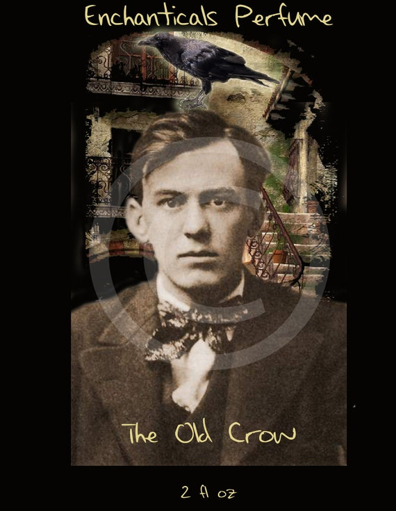 The Old Crow Gothic Victorian Fragrance Oil for Men