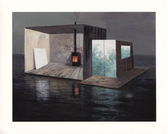 House Boat - Limited Edition Archival Print