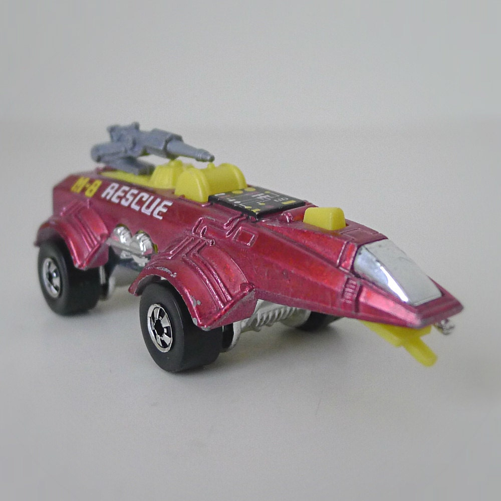 Hot Wheels Toy Cars : Vintage sci fi toy car s hot wheels m rescue vehicle