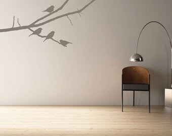 Birds on a Branch Wall Stickers