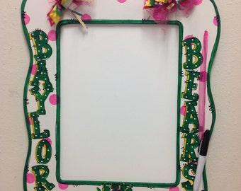 Dry erase board Baylor Bears