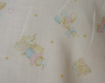 Lecien 3677N Cotton Fabric Nursey Print Baby