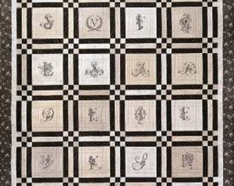 Hopechest  Quilt Pattern by Crabapple Hill 266 Hand Embroidery