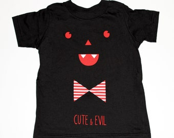 CUTE & EVIL / Kids Tee