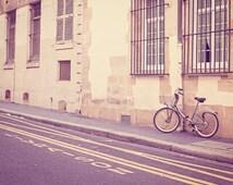 Paris Photography, Paris Print, Bike Art, Bicycle print, Paris Decor, Bicycle Photo, Bike Print, Travel Photo - Special Delivery (Livraison)