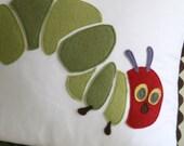 A Very Hungry Caterpillar Nursery Pillow