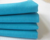 Cloth Napkins - Teal - 100% Cotton