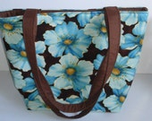 Cotton Tote Bag - Floral Tote Bag - Tote bags for women - Bridesmaid Tote Bags