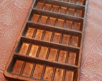 Antique Ukrainian Chocolate Mold