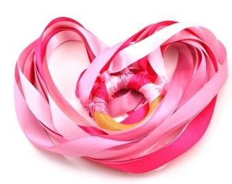 Hand Kite Ribbon Streamer Valentine's Day