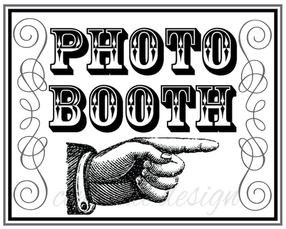 Photo Booth Sign, printable photo booth sign, wedding photo booth sign, Photobooth