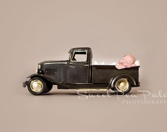 Newborn Baby Child Photography Prop Digital Backdrop for Photographers Boy Toy Car Collection
