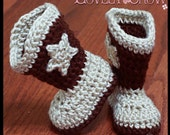 Crochet Pattern Toddler Cowboy Boots TODDLER BOOT SCOOTN Boots digital