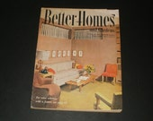 Vintage Better Homes and Gardens Magazine October 1952 - 334 Pages - Cool Vintage Ads - Scrapbooking Retro 1950s