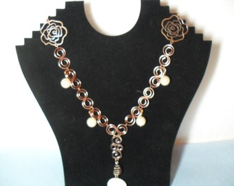 The S-ence of Roses and Pearls, Y Necklace, June 2013