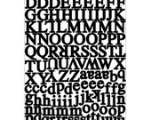 Karen Foster  Alphabet Cardstock Stickers