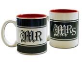 Ceramic Mr and Mrs Mug