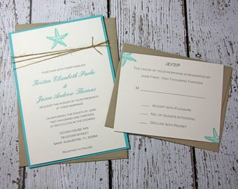 beach wedding invite | etsy, Wedding invitations