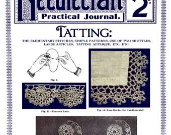 Needlecraft (99) c.1912 Vintage Tatting Lace Patterns