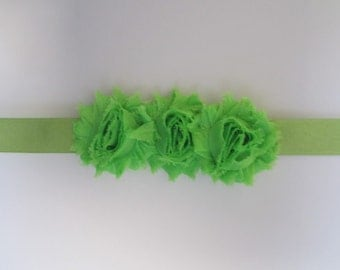 Flower Belt, Bridal Belt, Bridesmaid Belt, Bridesmaid Sash in Apple Green