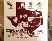 Texas Forever Screen Print