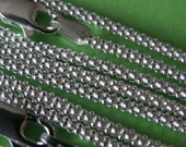 Sterling silver 16 inch smooth italian round chain - Korean style links