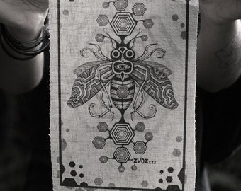 Bee Inspired Hemp/Organic Cotton Patch