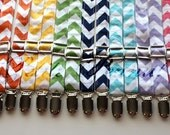 Little and Big Guy Adjustable Suspenders  - MINI CHEVRON Collection - (All Sizes) - Boy Toddler - Custom Order - Wedding - Photo Prop