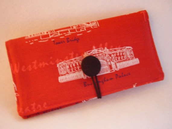 Pretty Checkbook Cover : Buckingham palace checkbook cover vinyl insert coupon