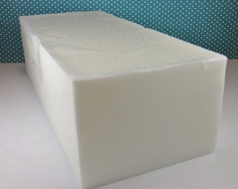 Coconut Shea Soap Loaf - JULY SPECIAL