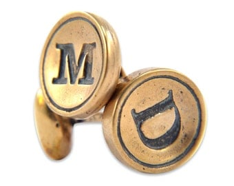 Personalized Initial Cuff Links
