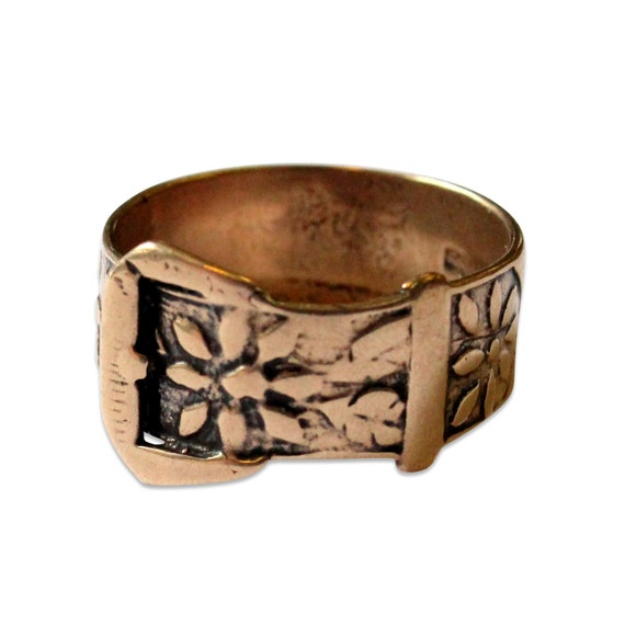 Two for One Sale....Belt Buckle Ring 106