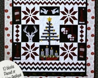 Nordic Christmas GE Designs Iceland Scandinavian Quilt Pattern