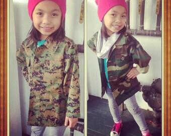Kids Camo Jackets
