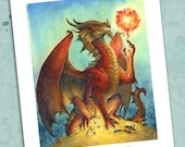 Dragon Magic 8.5 x 11 Print