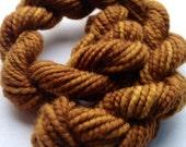 """Luxury Yarn Mini Skein """"Honey"""" - Shi Bui - Delicious 100% Merino Sock Yarn"""