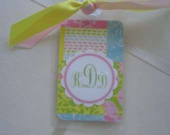 NEW PATTERN LILLY BagTags Luggage Tags Part Deaux for the Individual