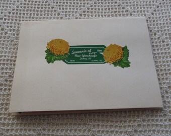 Vintage Handkerchief Irish Linen Hand Rolled Phillipines Souvenir Society of the Divine Word