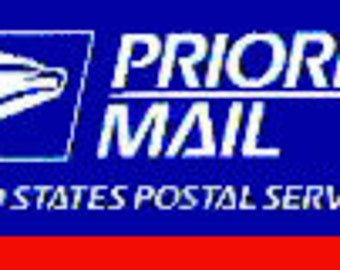 Priority Mail upgrade for your order