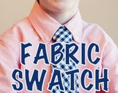 Swatch of Any Fabric
