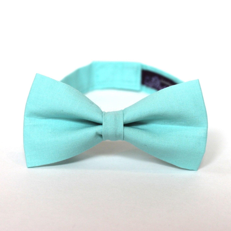 boy s bow tie fresh mint inspired by j crew any size