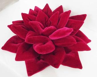 Christmas Gift For wife-Pink Pouf-Lotus Flower-Yoga Gift-Meditation Cushion-Nursery Decor-Yoga Cushion-Yoga Studio Decor-Decorative Pillow