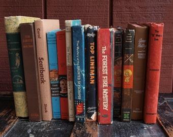 Vintage Boy's Adventure Books - Instant Collection