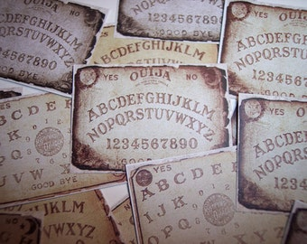 Ouija Board Sticker Labels Set of 16
